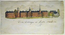 Yale College in September 1836