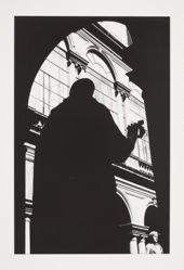 Untitled (Silhouette against Portal) 1981, from the Chiaroscuro portfolio, 1982
