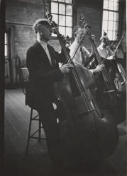Double Basses, from the series Metropolitan Opera