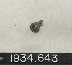 Inlaid fibula