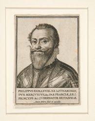 Portrait of Philippe Emmanuel de Lorraine, Duke of Mercoeur
