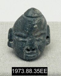 Ornament in the Shape of a Head