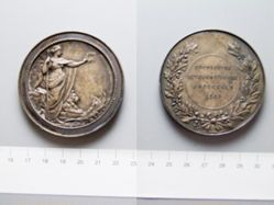 Silver Medal from Belgium of Brussels 1908 International Exhibition