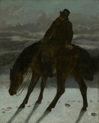 Hunter on Horseback