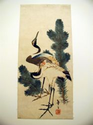 Storks and Pine