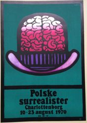 Polske Surrealister (Polish Surrealists), Charlottenborg, 10–23 August 1970