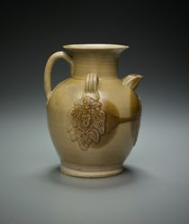 Ewer with Palm Leaves