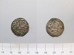 1 Denier of Unknown from Chartres