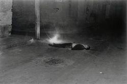 Hombre electrocutado, Ciudad de México (Electrocuted Man, Mexico City)