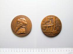 Bronze Medal of Johannes Gutenberg  from Germany