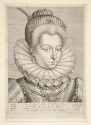 Portrait of Catherine Henriette de Balzac D'Entragues, Duchess of Verneuil