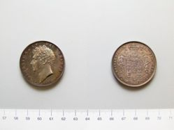 1 Crown of George IV, King of Great Britain from England