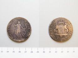 Silver 8 lire from the Genoa Republic