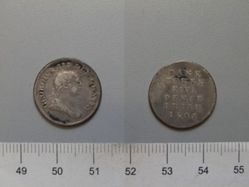 Five Pence of George III from London
