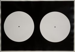 Untitled, from the series Circle Photograms