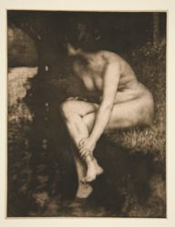 The Bather, from Representative Art of Our Time