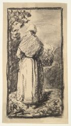 Peasant Woman Seen from Behind