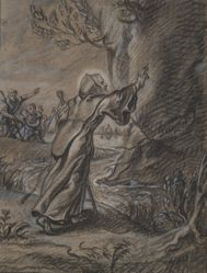 St. Francis of Paula Holding Back the Falling Rock