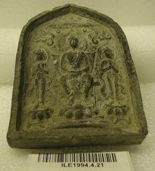 Buddhist votive miniature stele