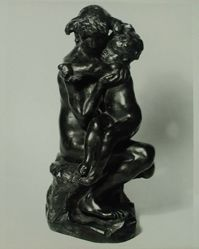 Photograph of Auguste Rodin bronze [Phillips Collection] -- from Katherine S. Dreier's private collection
