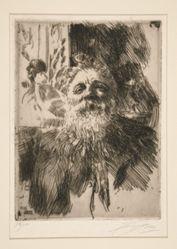 Portrait of A. Rodin
