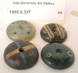 Four Amulet Beads