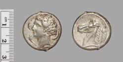 Tetradrachm from Sicily