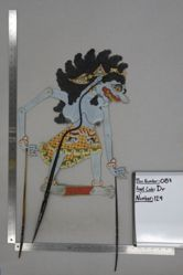 Shadow Puppet (Wayang Kulit) of Raseksi Hutan, from the set Kyai Drajat