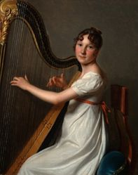 The Young Harpist