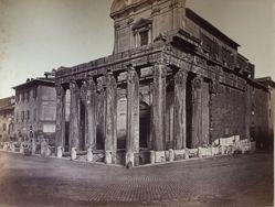 Untitled (Temple of Antoninus and Faustina, Church of San Lorenzo)