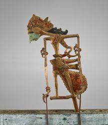 Puppet (Wayang Klitik) from a Jombang set