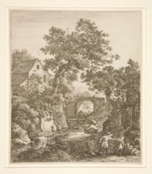 Landscape with the Circumcision of Moses' Son [Landscape with Zipporah Circumcising Her Son]