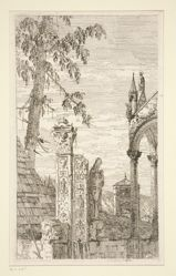 The Bishop's Tomb, from the series Vedute (Views)
