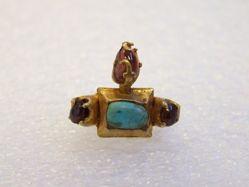 Bird Ring with Gems
