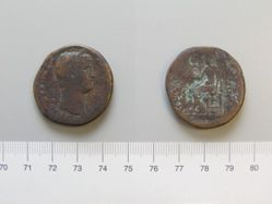 Sestertius of Hadrian