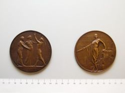 Belgian Medal Commemorating the Resistance of Antwerp