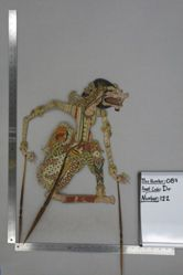 Shadow Puppet (Wayang Kulit) of Cakil, from the set Kyai Drajat