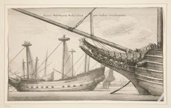Dutch West Indiaman, no. 2 of 12 in the series Navium Variae Figurae et Formae