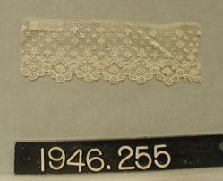 Length of machine-made lace