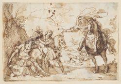 Scene from Tasso's Gerusalemme Liberata