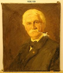 Reverend Joseph Hopkins Twichell, (1838-1918), B.A. 1859, M.A. (Hon.) 1886, D.D. 1913