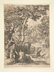 Saint. Onuphrius in the Wilderness