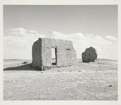 The walls of the Torrez trading post and fort, near La Garita, Colorado
