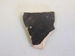 Misfired cup sherd