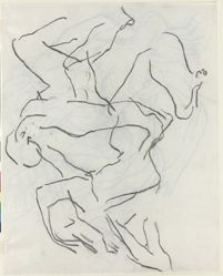 Untitled figure studies (recto and verso)