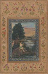 Ragini Asavari, a scene from a Ragamala