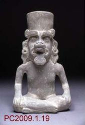 Vessel in the Shape of Cocijo, God of Rain