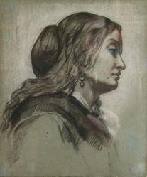 Profile Portrait of a Woman