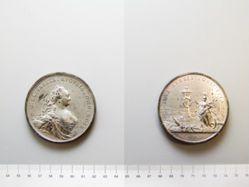 Pewter medal of Elizabeth I