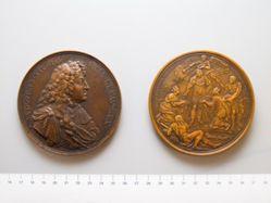 Bronze Medal of King Louis XIV